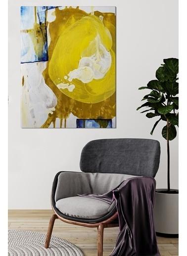 MarkaEv 0048 Canvas 65x95 Cm Soyut Tablo Renkli